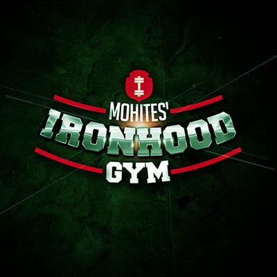 Ironhood Gym Logo Design by Pixel and Curve