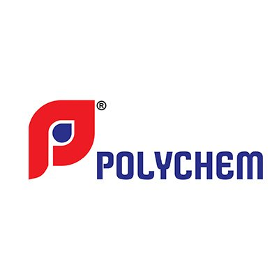 Polychem Logo Design by pixel and curve