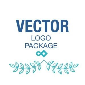 Vector Logo Package Pixel and Curve